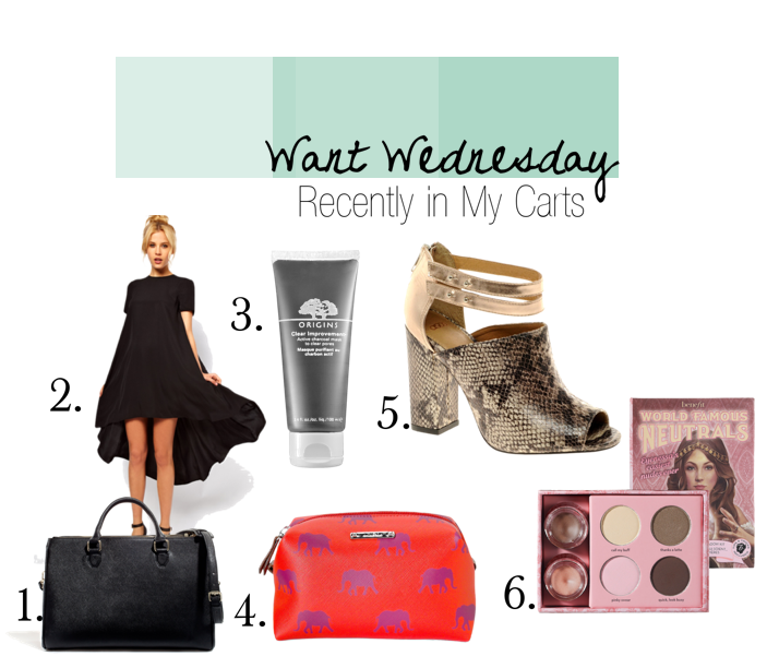 Want Wednesday: Recently in My Cart | InaWorldofBees