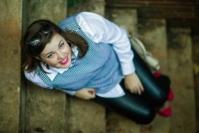 Leather+Kate Spade {inaworldofbees} photos by Alaina Denean